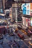 Vue aérienne de Times Square, New York photos stock