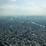 Vue aérienne de Tokyo images libres de droits
