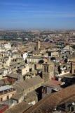 Vue aérienne de Toledo, Espagne Photographie stock