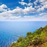 Vue aérienne de Tossa de Mar en Costa Brava de Gérone Photographie stock libre de droits