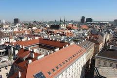 Vue aérienne de Vienne photographie stock