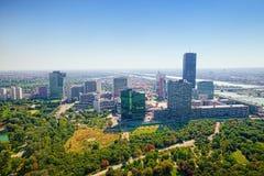 Vue aérienne de Vienne images stock