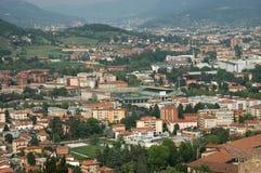 Vue aérienne de ville Image libre de droits