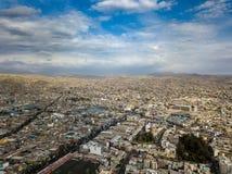 Vue aérienne de ville d'Arequipa au Pérou photo stock