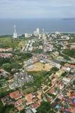 Vue aérienne de ville de Pattaya, Chonburi, Thaïlande. Photos stock