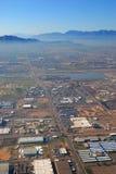 Vue aérienne de ville de Phoenix, Arizona Photos stock