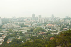 Vue aérienne de ville de Xiamen du centre, Chine. Photo libre de droits