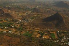 Vue aérienne de ville historique Udaipur photos stock