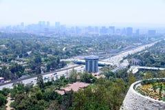 Vue aérienne de ville moderne photographie stock libre de droits