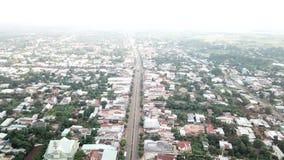 Vue a?rienne de ville de Ngai Giao photo stock