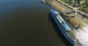 Vue aérienne de ville de Samara banque de vidéos