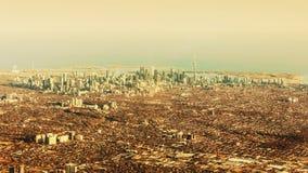 Vue aérienne de ville de Toronto Photographie stock libre de droits