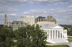 Vue aérienne de Virginia State Capitol reconstituée par 2007 photo libre de droits