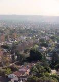 Vue aérienne de voisinage Images stock