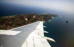 Vue aérienne de Zakynthos Image stock
