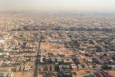 Vue aérienne de zones urbaines images stock