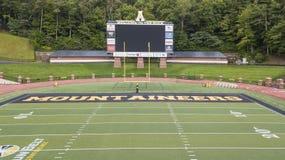 Vue aérienne des au sol de Stadium On The de brasseur de Kidd d'Appalache photo stock