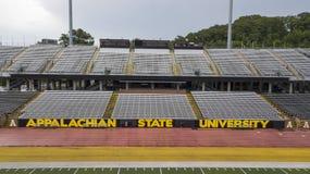 Vue aérienne des au sol de Stadium On The de brasseur de Kidd d'Appalache photos stock