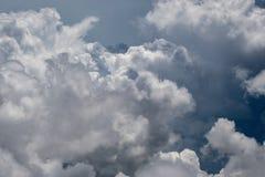 Vue aérienne des clounds de tempête photo libre de droits