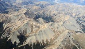 Vue aérienne des montagnes Photographie stock libre de droits