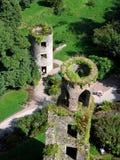 Vue aérienne des tours de cajolerie Photographie stock libre de droits