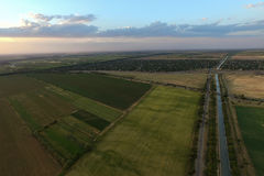 Vue aérienne des zones Image libre de droits