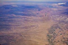 Vue aérienne du beau paysage urbain d'Olathe image libre de droits