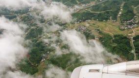 Vue aérienne du champ photo libre de droits