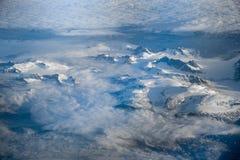 Vue aérienne du Groenland images stock