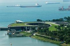 Vue aérienne Marina Barrage images libres de droits
