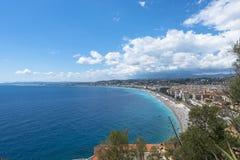 Vue aérienne Nice de côte Photographie stock