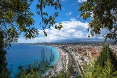 Vue aérienne Nice de côte Photo stock