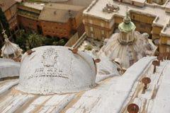 Vue aérienne Rome, Italie de San Pietro Photo stock