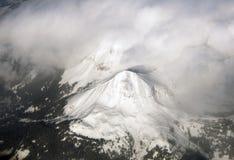 Vue aérienne supérieure de montagne Images stock