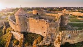 Vue aérienne sur la citadelle de la forteresse Akkerman Photos libres de droits