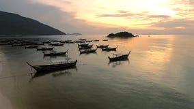 Vue aérienne sur la mer Photo stock