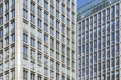 Vue abstraite des constructions image libre de droits
