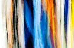 Vue abstraite des fils dans beaucoup de différentes couleurs Image libre de droits
