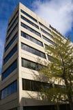 Vue abstraite du bâtiment de confiance de Sun photographie stock