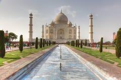 Vue Agra de Taj Mahal en Inde Photographie stock