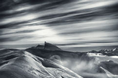 Vue alpine Photos libres de droits