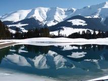 Vue alpine Photos stock