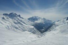 Vue alpine Images libres de droits