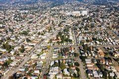 Vue aérienne d'Oakland Images libres de droits