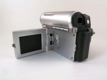 Vue arrière d'un camcoder compact du consommateur photos libres de droits
