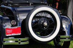 Vue arrière de chariot horseless de 1928 Ford Image stock