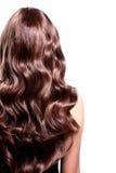 Femme nue cheveux long bouclés