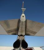 Vue arrière de Jetfighter Images libres de droits