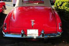 Vue arrière de véhicule de luxe rouge Image libre de droits