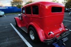 Vue arrière de voiture ancienne Photographie stock libre de droits